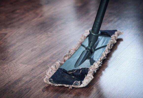 Švara ir tvarka įtempiamų lubų montavimas | Brilliance