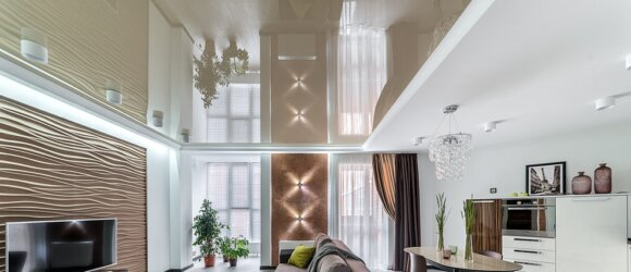 Įtempiamos lubos LED standartas