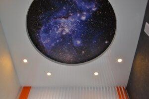 Įtempiamos lubos žvaigždėtas dangus